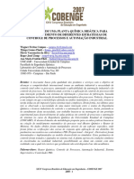 Controle de Processos de Automação Industrial