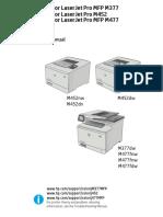 HP CLJ M452 M477 Repair Manual