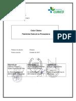 Neo - Guia Clinica Nutricion Enteral en Prematuros, 1ª Ed