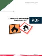 EQgest Clasificación y Etiquetado CLP