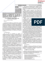 Modifican El Reglamento de Atención y Solución de Reclamos de Usuarios de La Corporación Peruana de Aeropuertos y Aviación Comercial S.a. CORPAC