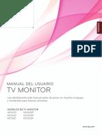 Manual de usuario LG monitor