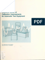 NBS Special Publication 673 - Economic Model of Calibration Improvements for Automatic Test_Equipment