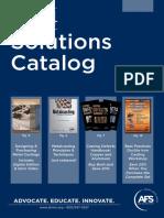 2014 Solution Catalog - American Foundrymen Society