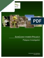 SunCoast Project Platypus Investigation Report