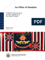 Audit of the Office of Hawaiian Affairs