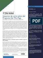 Impactos De Corto Plazo Del Programa Ser Pilo Paga