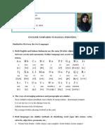 English Compared to Bahasa Indonesia