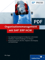 Organisationsmanagement Mit SAP ERP HCM
