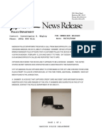 MPD Skimmer Press Release