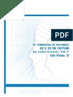 10º – Congresso de Psicanálise Integrativa - Sympla