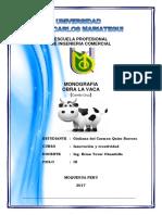 La Vaca Monografia