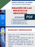FORMACION MOLECULAS ORGANICAS