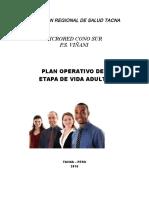 Plan Adulto 2016