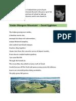 poem under mangere mountain by david eggleton