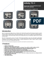 TC1 4-Channel Digital Thermocouple Pyrometer Users Manual_1