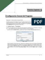 Tricalc 1 Configuración General del Programa