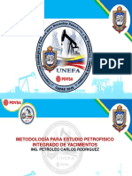 15 Metodologia Para Estudio Petrofisico Integrado de Yacimiento 30jun16 Ing. Carlos Rodriguez