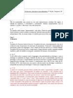 Fichamento Análise de Discurso, Princípios e Procedimentos