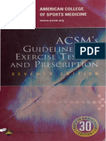 46236977 ACSM s Guidelines for Ex Testing Prescription II Copy