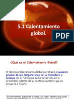 5 Calentamiento Global