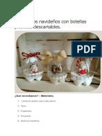 Adornos Navideños Con Botellas Plásticas Descartables