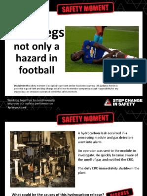 Safety Moment - Deadlegs | Leak | Safety