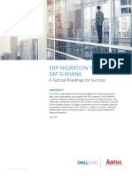 032017 Dell EMC Auritas White Paper Migrating to S4HANA