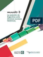 Módulo 3 - La posición de Argentina ante diversos sucesos históricos.pdf