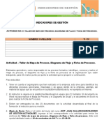 Actividad 2. Taller de Mapa de Proceso, Diagrama de Flujo y Ficha de Procesos(1)