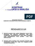 Kontrak Produksi Dan Analisis