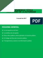 Policía Nacional Del Perú - Ética