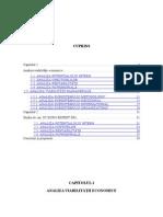 Analiza Viabilitatii Economice Si Manageriale - Final