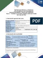 Guía de Actividades y Rúbrica de Evaluación. Paso 1 - Analizar Un Circuito Resistivo Mixto Por Medio de La Ley de Ohm (1)
