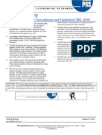 Bill_Summary_The Enemy Property Amendment) Bill, 2010