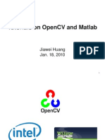 Tutorials on OpenCV and Matlab