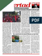 Periódico Libertad del MPD No. 140