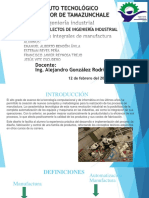 Sistemas Integrales de Manufactura