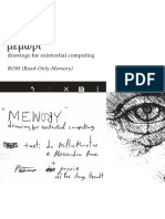 Μέμωρι drawings for existential computing ROM (Read-Only-Memory) di Miltos Manetas