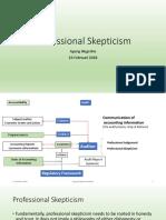 Professional Skepticism 2018