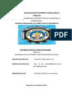INFORMEE PRACTICAS DE CUMPUTACION INFORMATICA