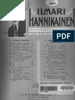 Hannikainen - Valse, Op.17 No.2