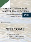 Lake Accotink Park Master Plan Revision