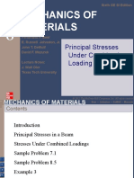 Lecture 6 - Principal Stresses Under Combined Loadings