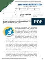 MODEL PEMBELAJARAN DALAM KURIKULUM 2013.pdf