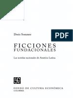 Ficciones Fundacionales Doris Sommer