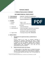 3. Psicologia Forense Unidad III