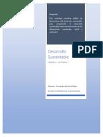Mapa Conceptual Dimensiones Del Desarrollo Sustentable