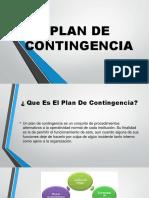 Plan de Contingencia Enero 2018