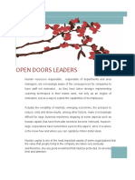 Open Doors Leaders v 1